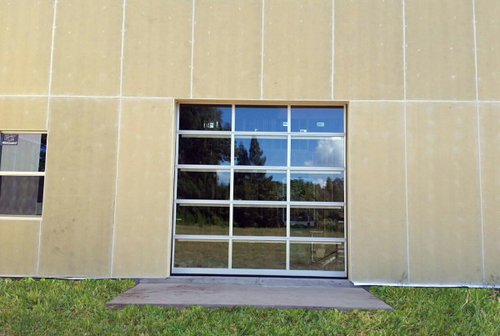 Aluminum Overhead Glass Doors