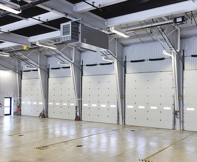 10 x 10 Motor Operated Sectional Overhead Door