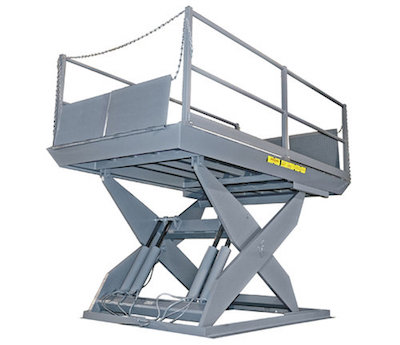 Loading Dock Scissor Lift