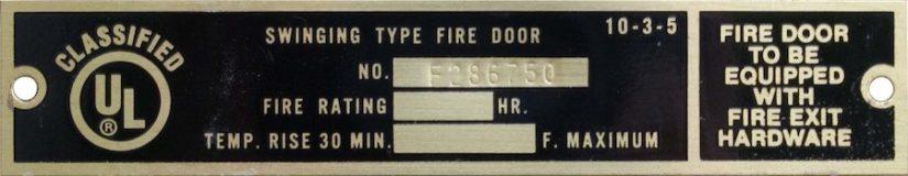 Fire Rated Roll Up Doors Industrial Door Solution