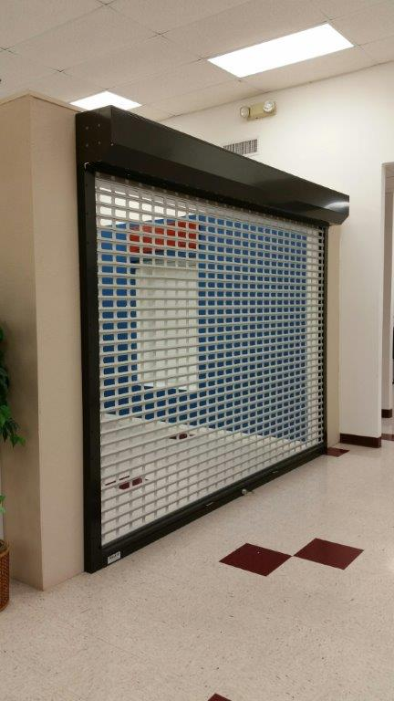Aluminum Roll up Shutters perforated