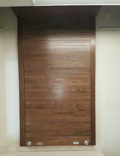 Wood Rolling Doors